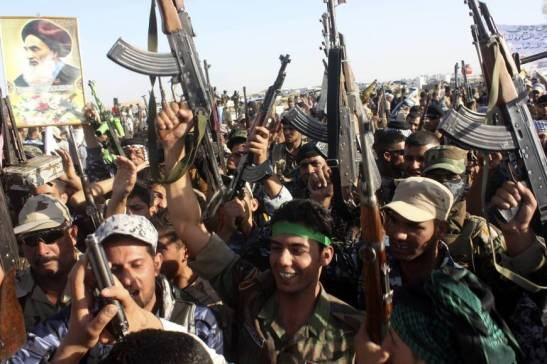 Iraqi Forces and Volunteeers Advances in Kirkuk and Tikrit