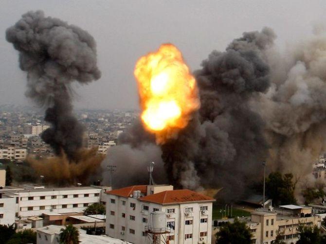 Israel Bomb Gaza