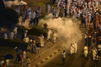Kuwaiti Protest for the Release of Oppostion Leader