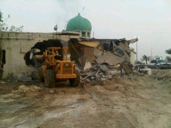 Shia Mosque Bulldozed in Bahrain