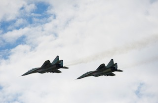 Ukrainian Army Jets shot Down by Pro Russian Rebels