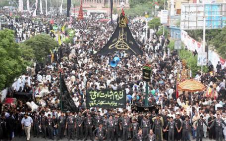 Youm-e-Ali-Procession of Karachi 2014