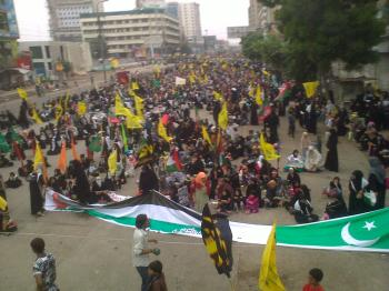 Youm ul Quds Rally 2014  Huge No. of Participantss