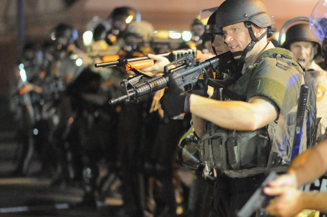 31 Arrested in Missouri , Ferguson in Racist Conflicts