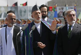 Afghanistan's President Oath taking Ceremony on Sept 02