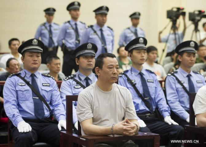 Chinese Business tycoon Sentence to Death