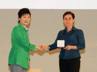 Iranian woman, Maryam Mirzakhani World Class Mathematician
