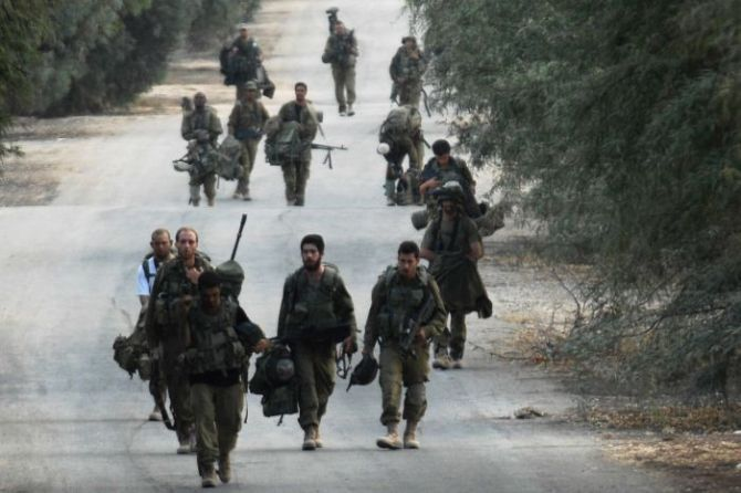 Israeli forces Withdraws from Gaza