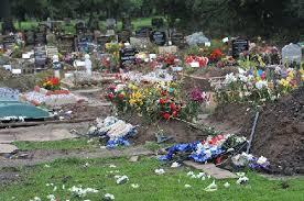 Muslim Graves Vanadalized By Racist in UK