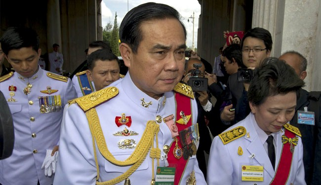 Thai army chief nominated as new prime minister