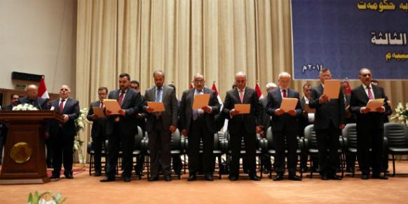 Iraqi parliament approves Abadi's New Cabinet