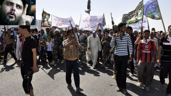 Iraqi Protesters Rejects US Coalition Country