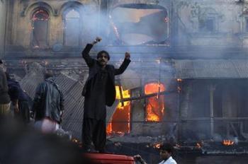 Tyrie Wala Imambargah Burnt