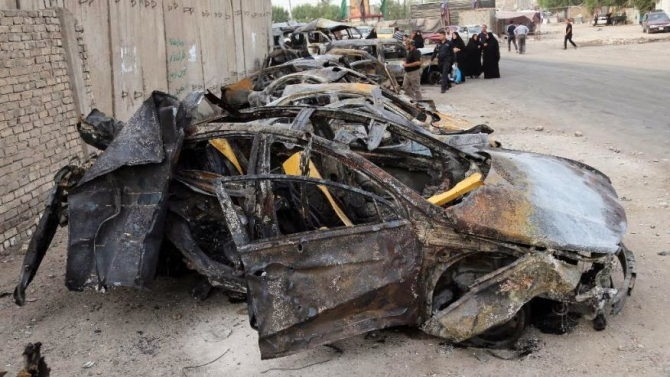 134 Martyred in Shiite Neighborhoods in Car Bomb attacks in Baghdad