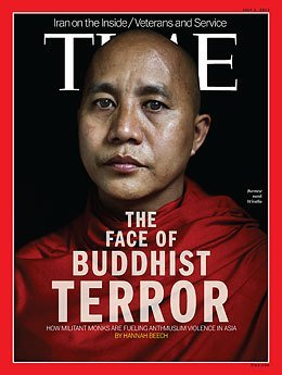 Ashin-Wirathu monk Sign of Terror in Myanmar