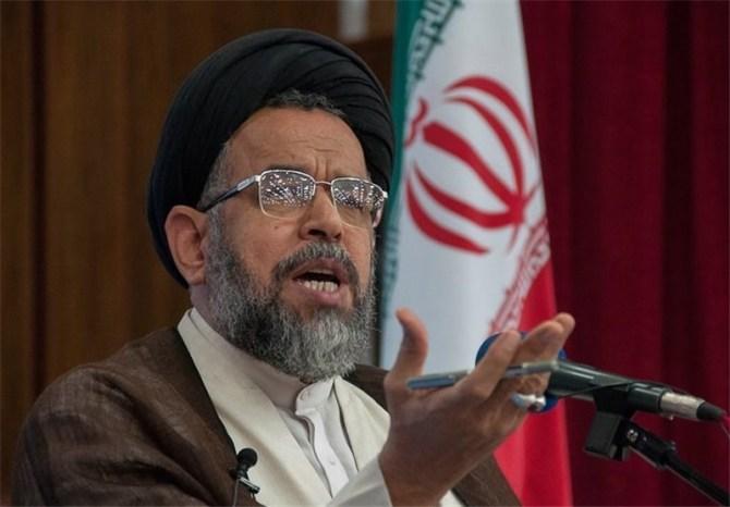 Iran's Intelligence Minister Seyyed Mahmoud Alavi