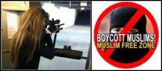 Muslim Free Zone -