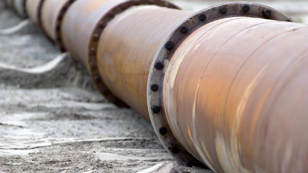 Oil Pipeline in Saudi Arabia