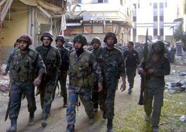 Syrian Troops Regain Major Towns in Hama