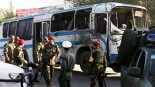 Twin Suicide Blast Hits Afghan Army Buses