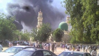 Atleast 120 Dead in a Double Suicide Attack in a Mosque in Nigeria