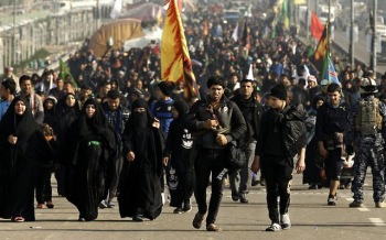 Iraqi Shiite Piligrims Heading to Karbala