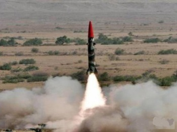 Pakistan Test Fires Nuclear Capable Balistic Missile , Shaheen II