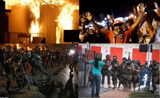 Racial Discrimination Ignites Riots in Ferguson , Missouri