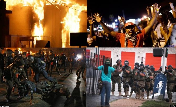 Racial Discrimination Ignites Riots in Ferguson , Missouri