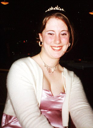 Samantha Lewthwaite from her school year book.