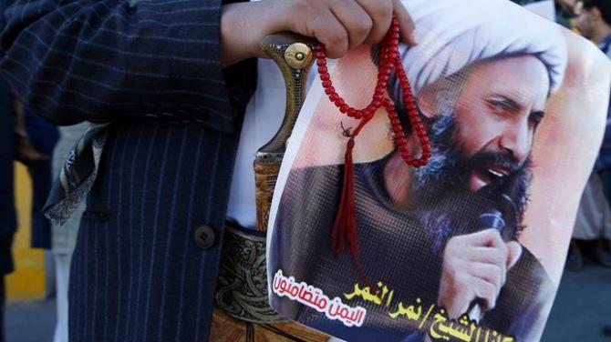 Shiite Protest Against Sh. Nimr Al Nimr Death Sentence