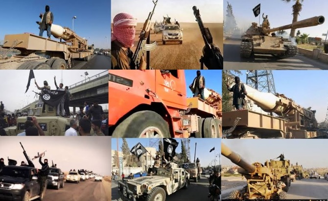US Military Hardware Lost in Afghanistan , Forund with ISIS