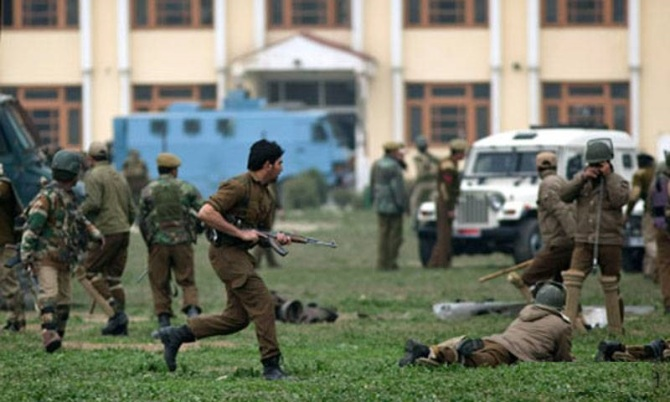 17 Killed in a Militant attack in Occupied Kashmir