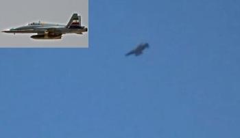 Irani Jets Bomb ISIS targets in Iraq