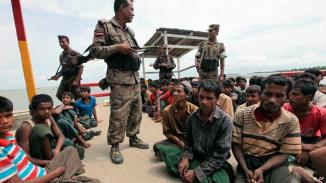 Myanmar Budhist Govt forcing the Rohingya Muslim Population to Leave the country