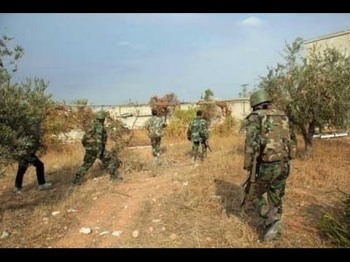 Syrian Army strikes Terrorist Hide Outs Across Country