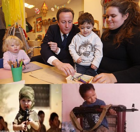 UK Nurseries to Report Potential Terrorists Toddlers