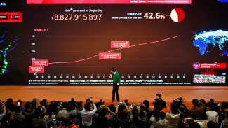 World Richest Ali Baba's Owner Jack Ma shows Onlince Progress Chart