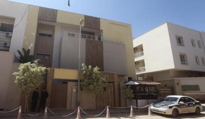 Jordanian Embassy in Tripoli , Libya