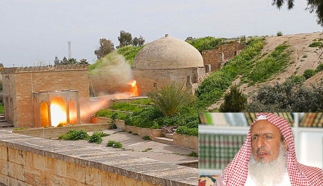 IS Terrorists Destroying Churches in line with the Edict given by Saudi Grand Mufti
