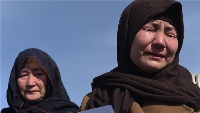 Afghan Shia Hazara Woman Mourn the Death of thieri Men