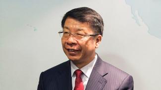 Chinese Vice-Minister of Finance Yaobin Shi inaugrates AIIB