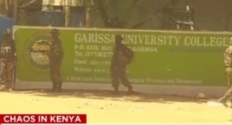 Garrisa University College Under Attack of Wahabi Al Shabaab Terrorists