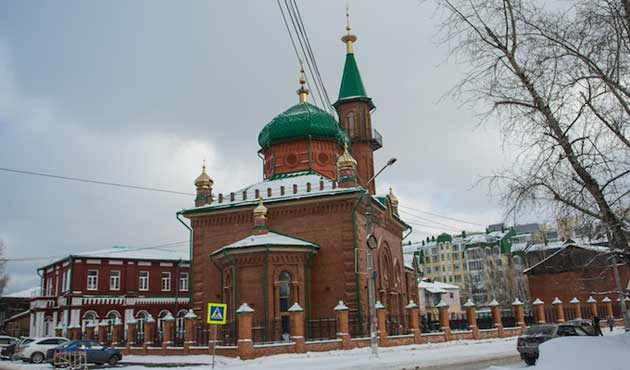 Red Mosque , Tomsk , Russia opens after 90