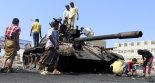 Shia Houthis take control of Presidential Palace in Aden , Yemen. 2