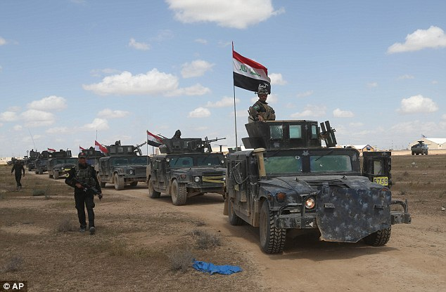 Tikrit Re Captured By Iraqi Forces and Shia Militias f