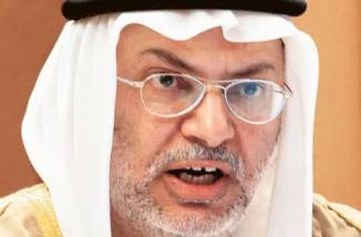 UAE's Minister of State for Foreign Affairs Anwar Mohammed Gargash