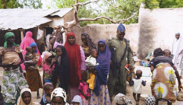 Atleast 200 Abducted Nigerian Women Rescued are impregnated by Wahabi IS Terrorists