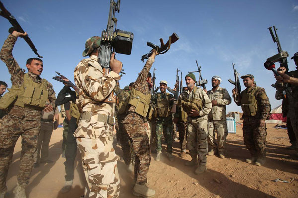 Iraqi forces Recapture another town in Anbar Province