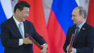 Russia - China integtate on Eurasian Market